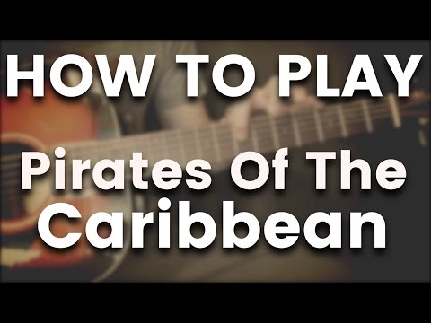 Pirates Of The Caribbean - Easy Finger Style Version