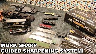 Work Sharp Guided Sharpening System! Fast Razor