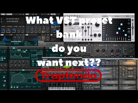 Question: What VST synth preset bank do you want next??