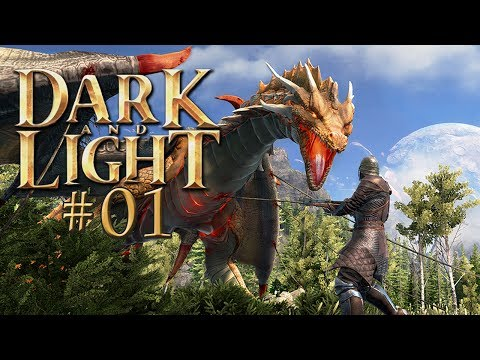 DARK AND LIGHT #01 • DIE ERSTEN SCHRITTE AUF ARCHOS • Dark and Light Gameplay German • Deutsch