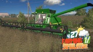 Farming Simulator 17 - Новый комбайн John Deere! Местные в шоке