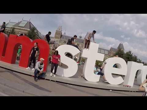 Amsterdam con la GoPro