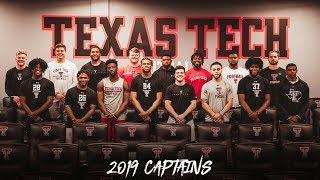 Texas Tech Football: Team Meeting - Captains | 2019