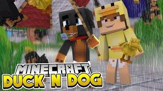 Minecraft Hide n Seek - 🐶 DOG & DUCK 🦆 - Little Club Baby Max & Baby Duck