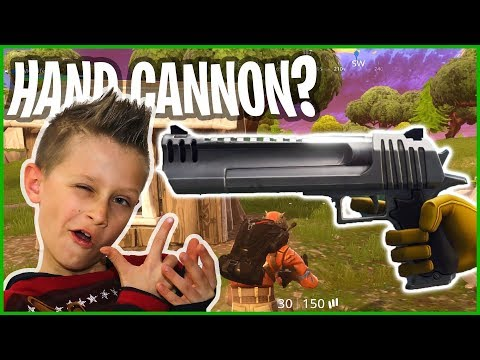 New Hand Cannon Added In Fortnite Battle Royale!