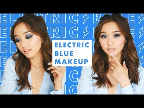 Chit Chat Catch Up GRWM | Bold Blue Electric Eyes 🦋