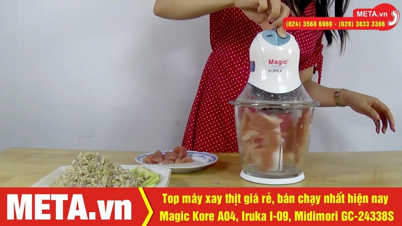 Top máy xay thịt chất lượng, bán chạy nhất hiện nay