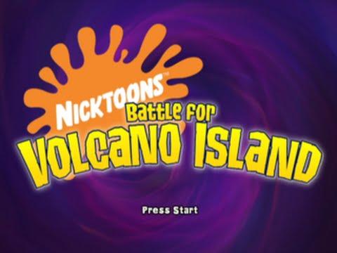 Nicktoons: Battle For Volcano Island (Full Gameplay)