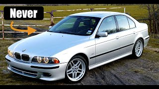 Why The BMW E39 540i Will Never Be A Collector Car