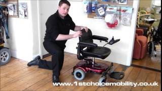 Rascal P321 Travel Powerchair