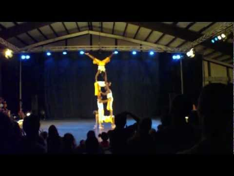 Nafsi Africa Acrobats at Acrobatic Festival 2012 Part 3/3