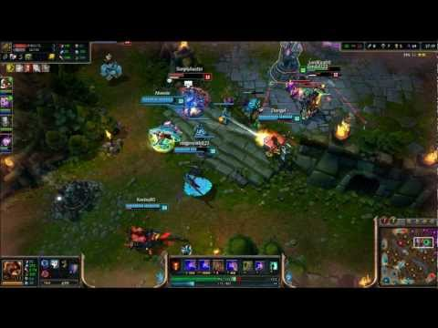 Amateur Gaming- League Of Legends- 1st Time Brand, 1st time Corki AND Morgana Support?!? WTF!?