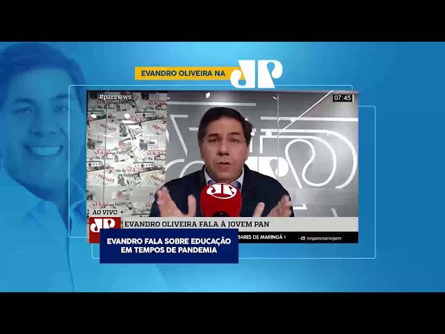 Entrevista ao Programa Pan News - Jovem Pan Maringá
