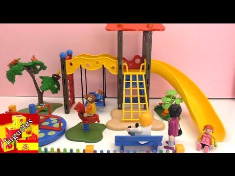 parque de juegos de playmobil playmobil parque infantil juega conmigo juguetes para nios