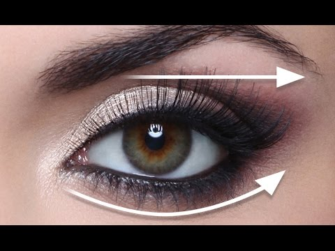 THE STRAIGHT LINE TECHNIQUE FOR HOODED EYES! FULL DEMO