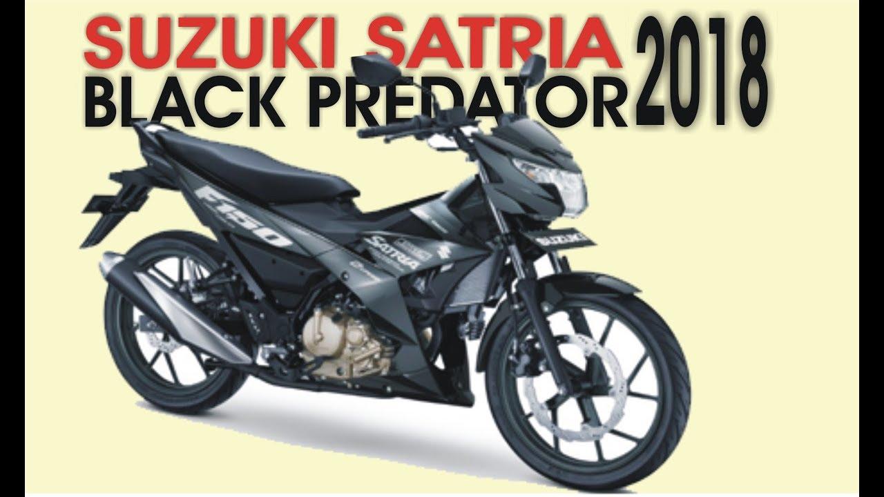 Suzuki Satria F Black Predator 150cc