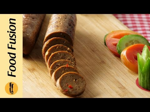 Homemade Italian Sausages Recipe By Food Fusion