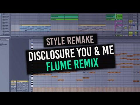 Tutorial Flume Disclosure - You & Me (Flume Remix) Ableton Live 9 with free Midis