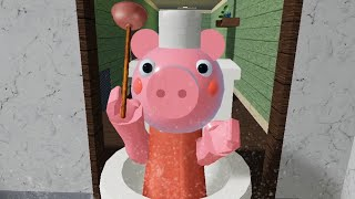 ROBLOX TOILET PIGGY NON INFECTED JUMPSCARE - Roblox Piggy RolePlay