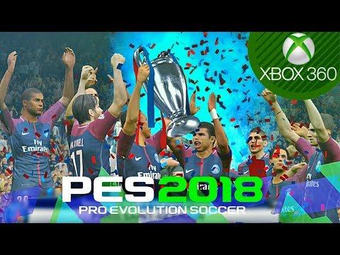 PES 2018 - UEFA Champions League Final - Barcelona vs PSG (XBOX 360)