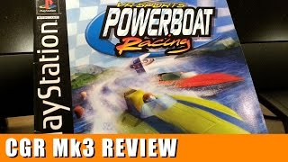 Classic Game Room - VR SPORTS POWERBOAT RACING review for PlayStation