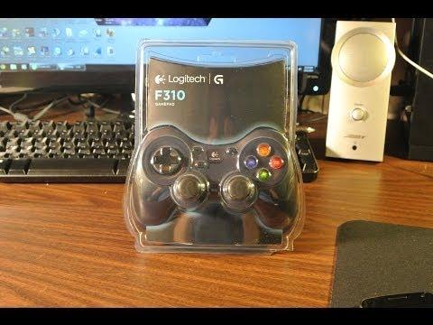 Logitech F310 Gamepad Unboxing