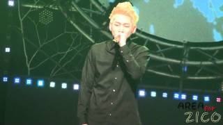 20111206 zico freestyle rap