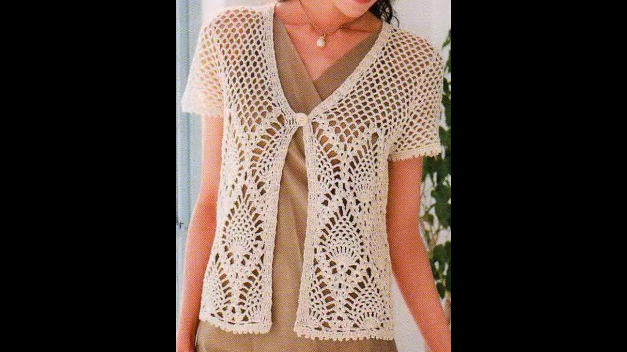 crochet shrug how to crochet vest shrug free pattern ...