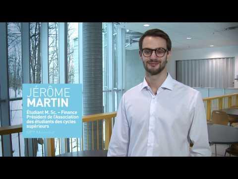 Bourse de soutien financier : Jérôme Martin!