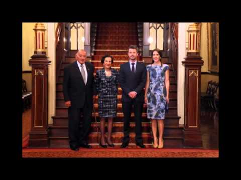 Prince Frederick and Princess Mary Visit Denmark in 2013
