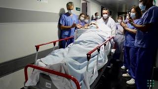 Pasa a planta paciente de 64 años tras pasar 159 días en UCI en Mallorca