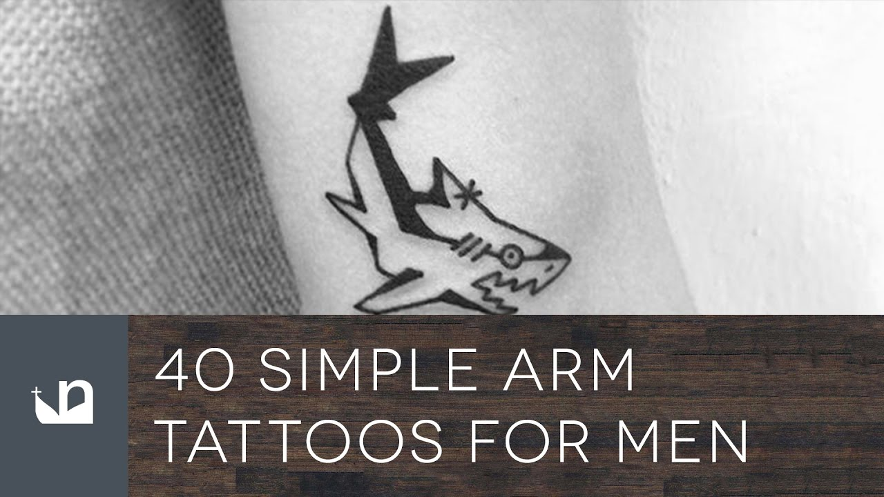 Cool Simple Tattoos For Guys On Arm