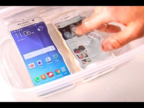 Samsung Galaxy S6 VS iPhone 6 Water Test! Waterproof?