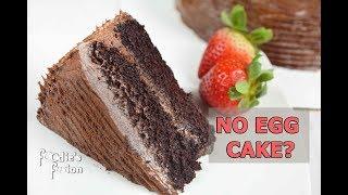 একটাও ডিম ছাড়া পারফেক্ট চকলেট কেক | Eggless Chocolate Cake | Easiest Chocolate Cake without Oven
