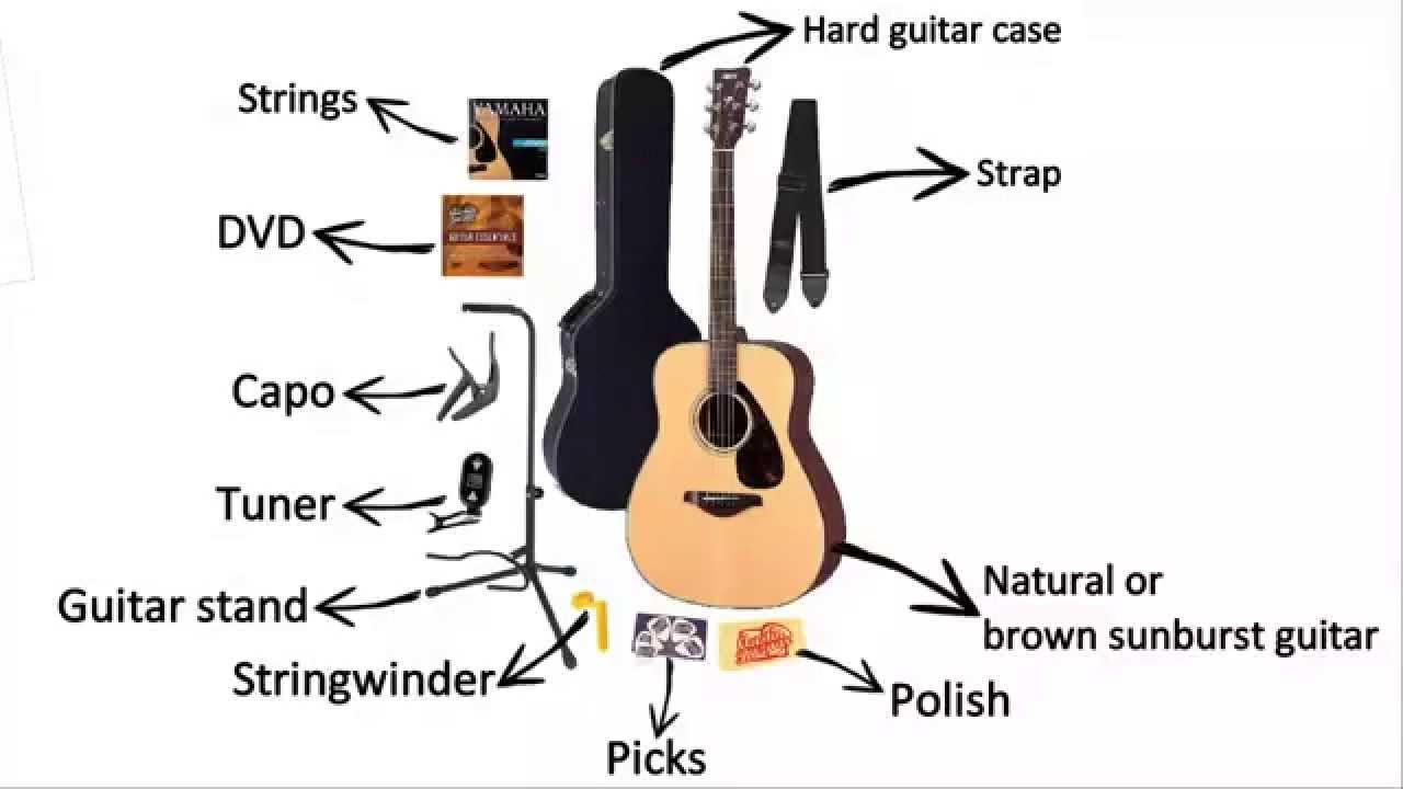 Yamaha FG700S Folk Acoustic Guitar Bundle Review
