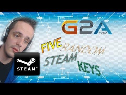 G2A.COM 5 Random Premium Steam Keys