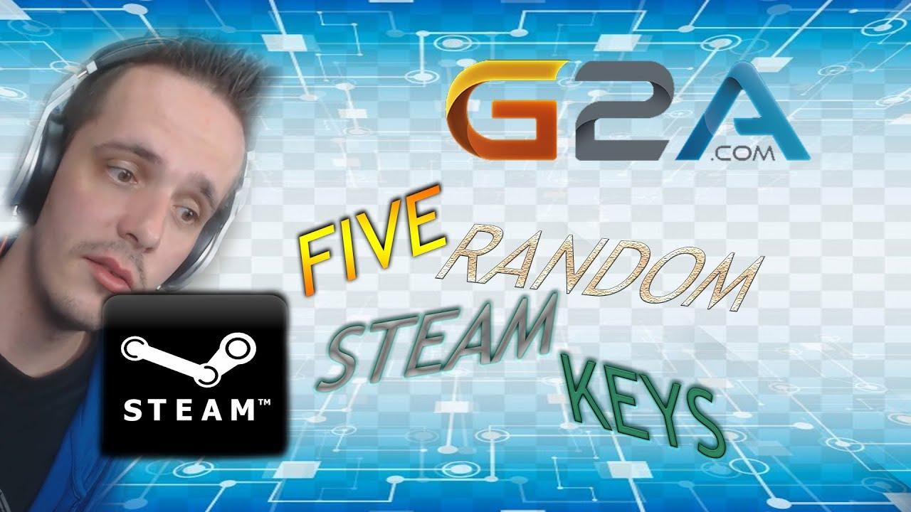 G2A COM 5 Random Premium Steam Keys
