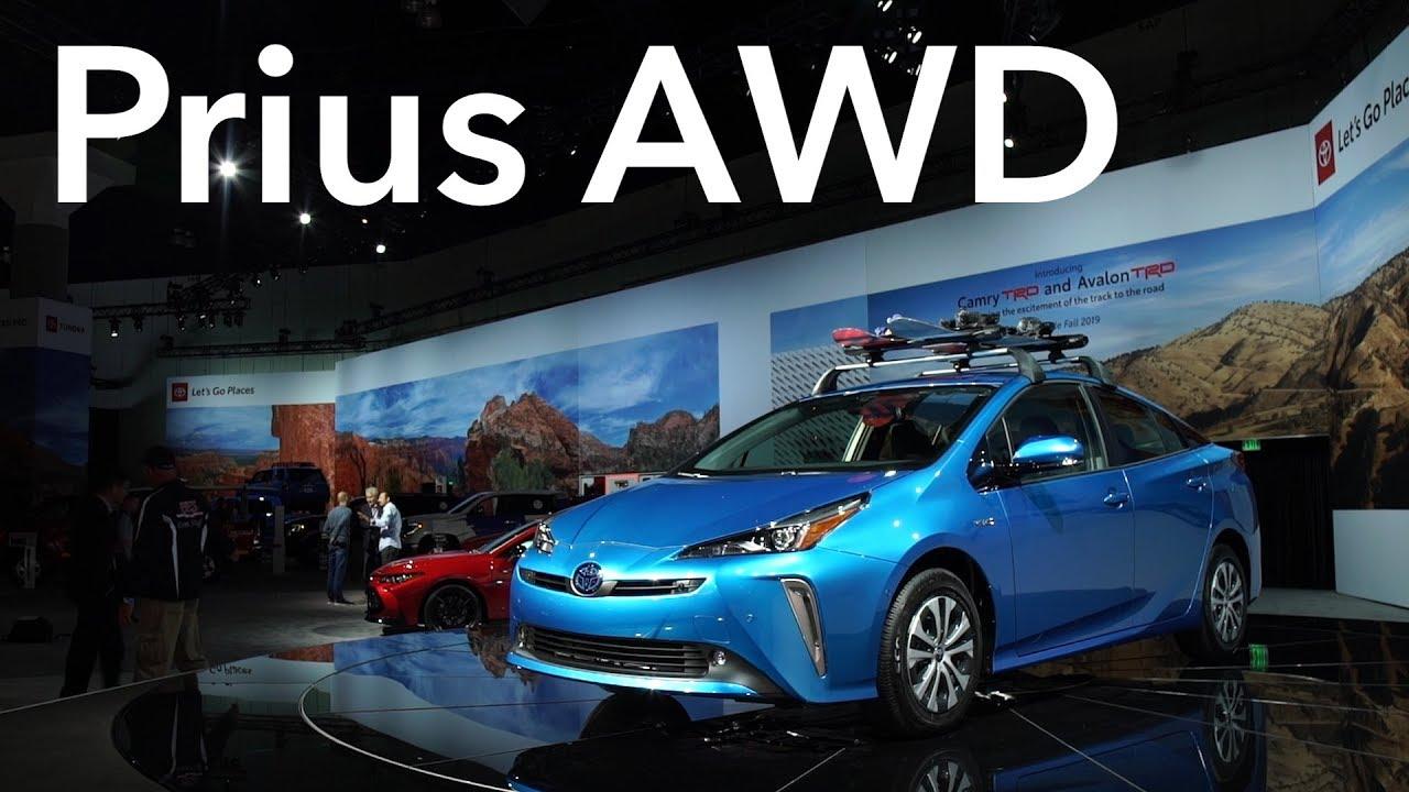 2018 La Auto Show 2019 Toyota Prius Awd Consumer Reports