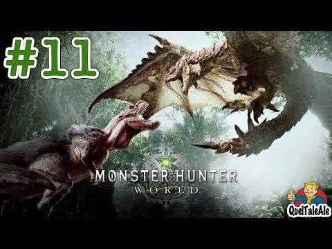 Monster Hunter World - Gameplay ITA - Walkthrough #11 - Il cattivissimo Anjanath