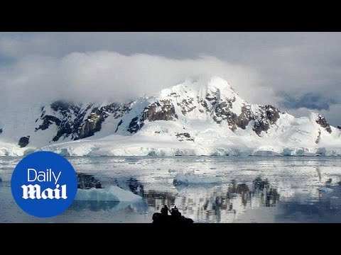 Antarctic ice shelves collapse 'put coastal towns at risk'