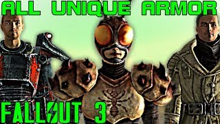 Fallout 3: All Unique Armor & Apparel Guide (Vanilla)