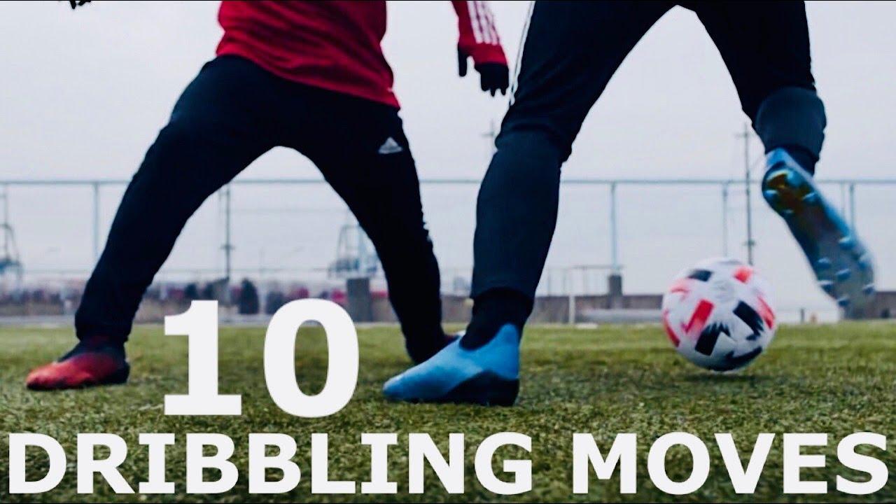 Download 10 Dribbling Moves To Beat Defenders | Step By Step Dribbling Skills Tutorial