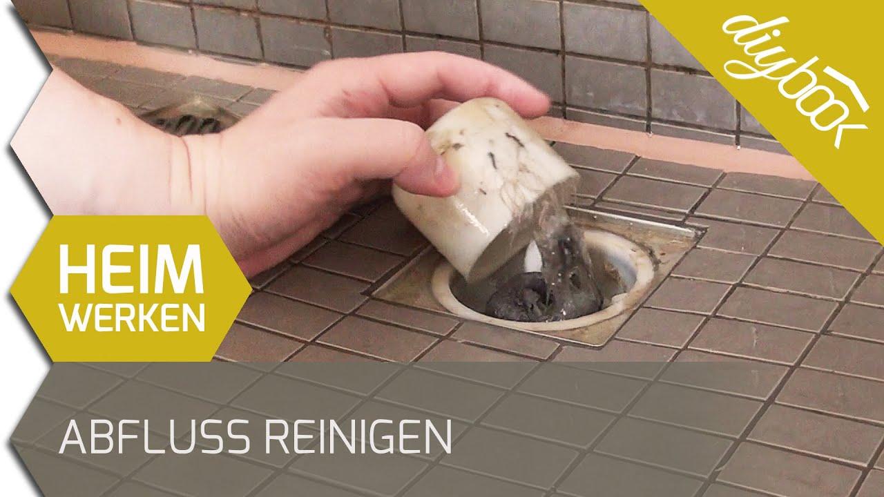 Abfluss reinigen: Badewanne und Dusche - YouTube