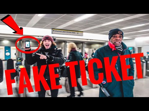 How To Make Fake Train Tickets To Go Anywhere In England