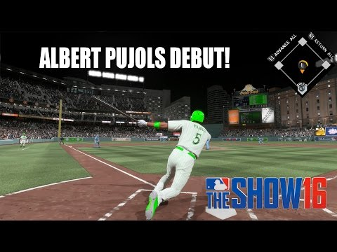 99 Albert Pujols Debut! Blowing the Game?!? - MLB The Show 16 Diamond Dynasty Gameplay