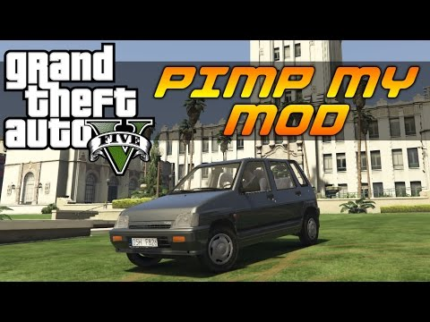 GTA V - Pimp My Mod #10 | 1998 Daewoo Tico | Modded Car Customization