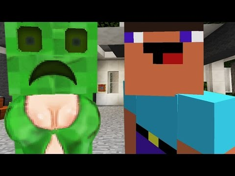 If Creepers Had Boobs - Minecraft Comedy Short Movie