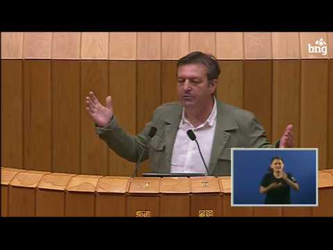 Intervención de Luís Bará no debate sobre a transferencia da AP-9