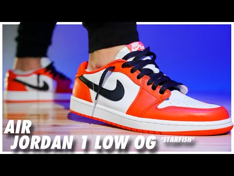 Air Jordan 1 Low OG Starfish