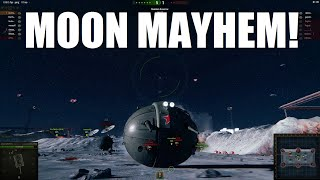 WOT - Moon Mayhem Game Mode!  IS-8 Ball April Fools Tank! World of Tanks
